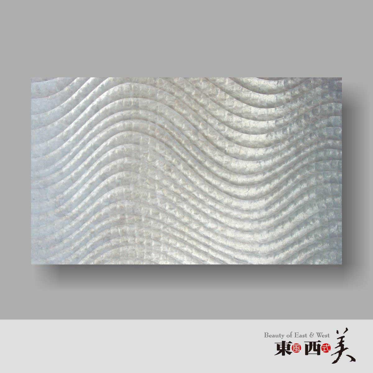 贝壳装饰背景墙