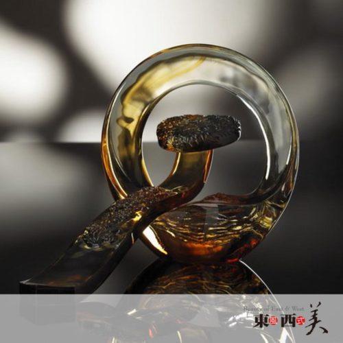 琉璃摆件工艺品