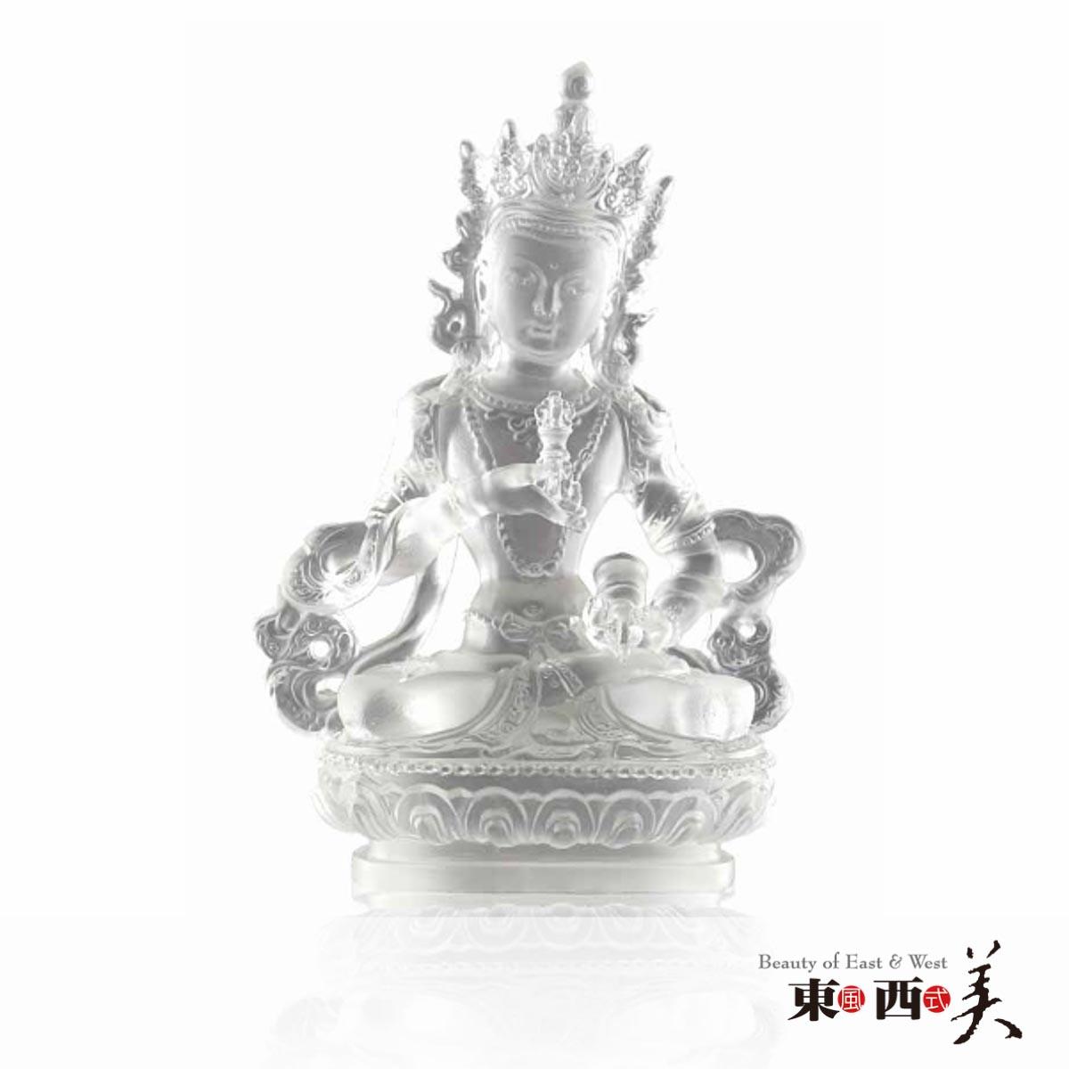 琉璃佛像摆件
