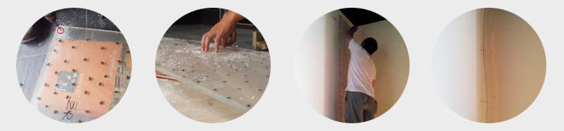 树脂板安装流程