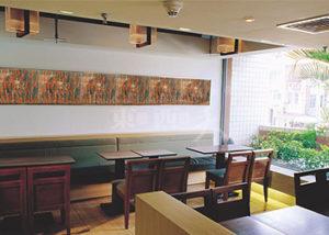 酒店餐厅类树脂板