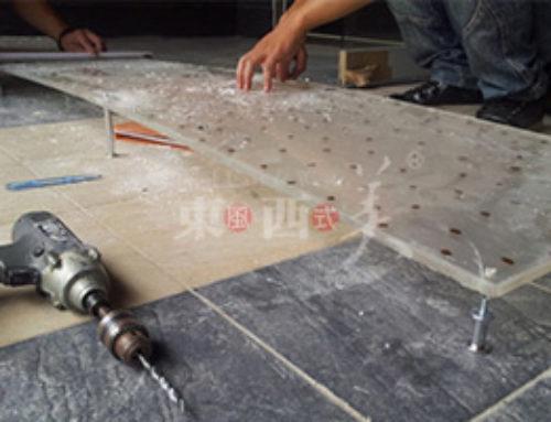 如何使用树脂板安装?