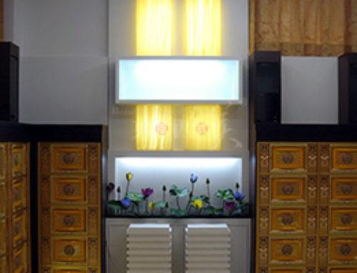 透光石电视背景墙如何设计又经济又美观?