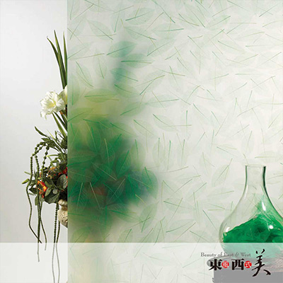 夹植物透光板
