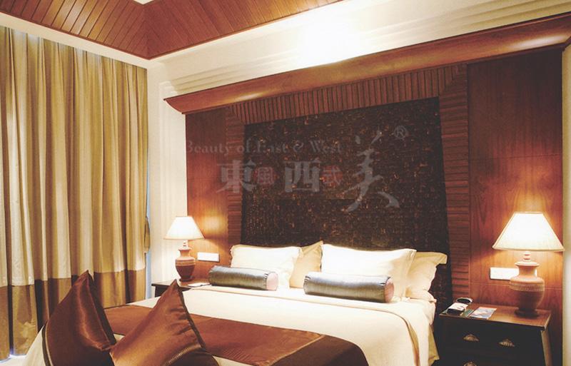 椰壳装饰板装修卧室