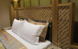 用椰壳装饰板装修卧室