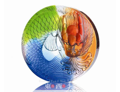 美轮美奂的琉璃摆件工艺品,现代含韵之美